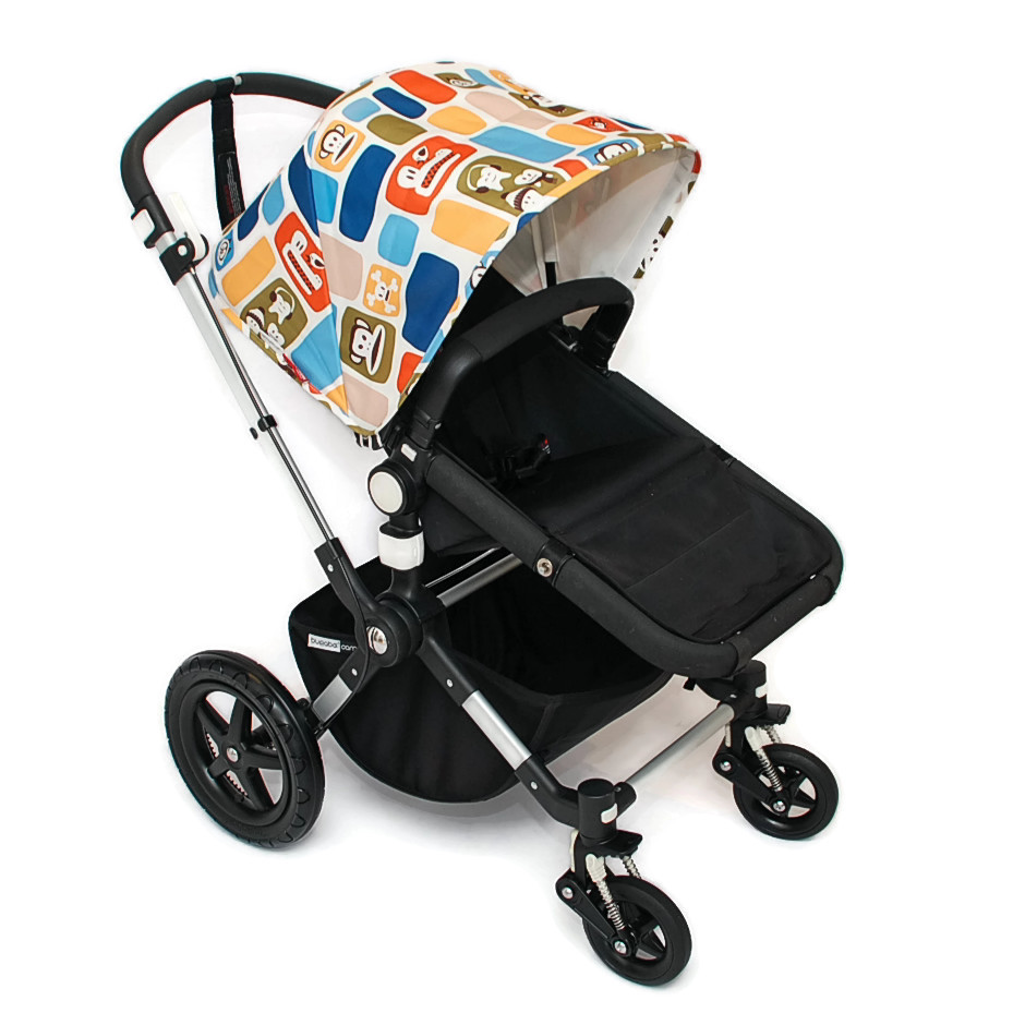 bugaboo cameleon 3 kinderwagen schwarz paul frank limited edition sonderedition ebay. Black Bedroom Furniture Sets. Home Design Ideas