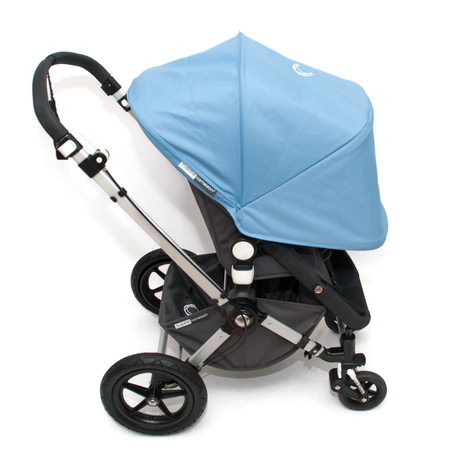 bugaboo cameleon 2 kinderwagen set komplett mit cam3 ice blue blau. Black Bedroom Furniture Sets. Home Design Ideas