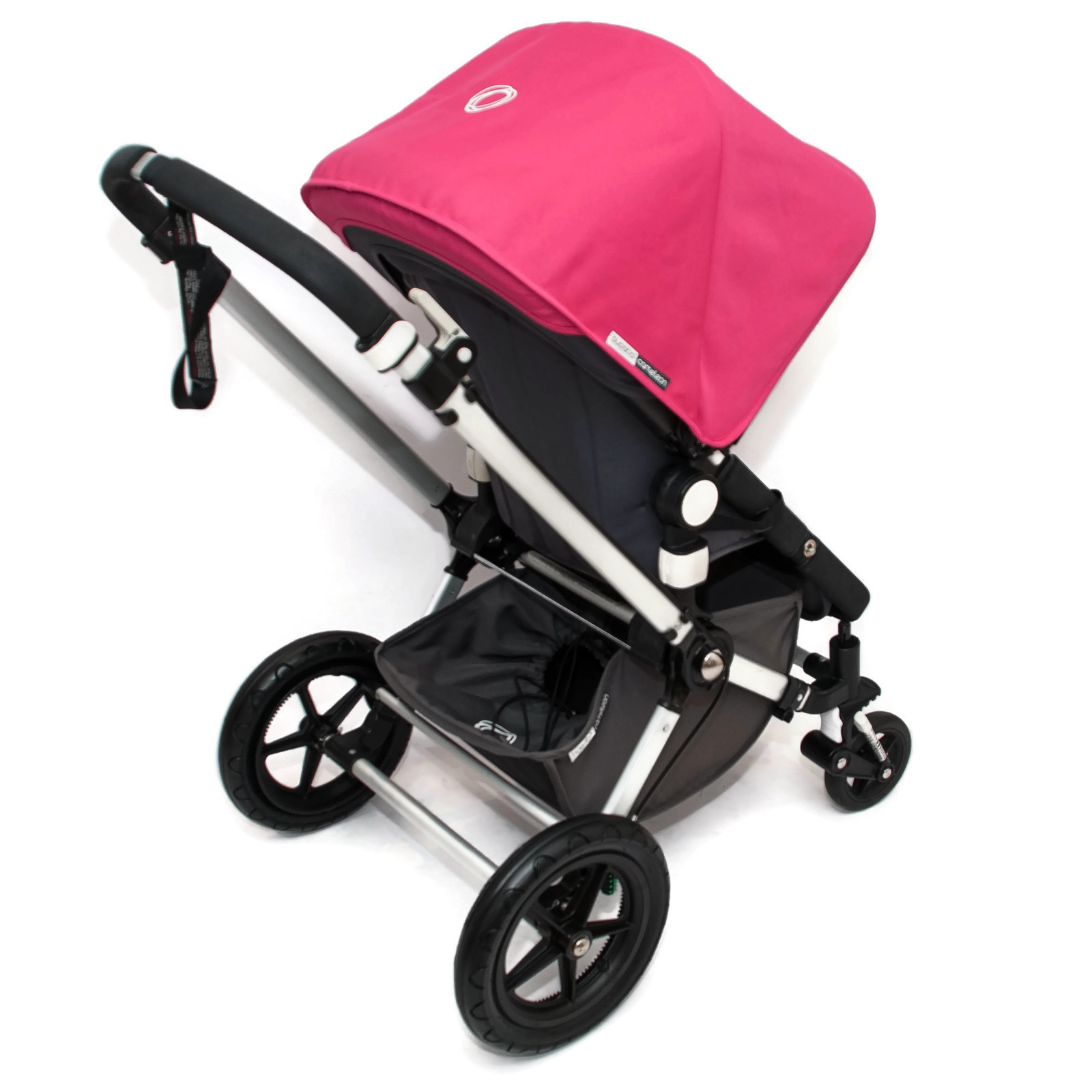 bugaboo cameleon 2 kinderwagen set komplett hot pink rosa grau ebay. Black Bedroom Furniture Sets. Home Design Ideas