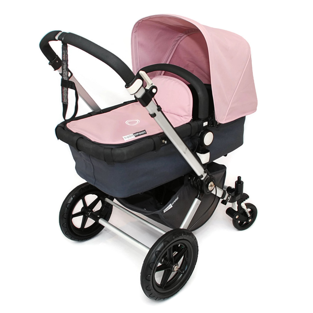 bugaboo cameleon 2 kinderwagen komplett set soft pink rosa anthrazit ebay. Black Bedroom Furniture Sets. Home Design Ideas