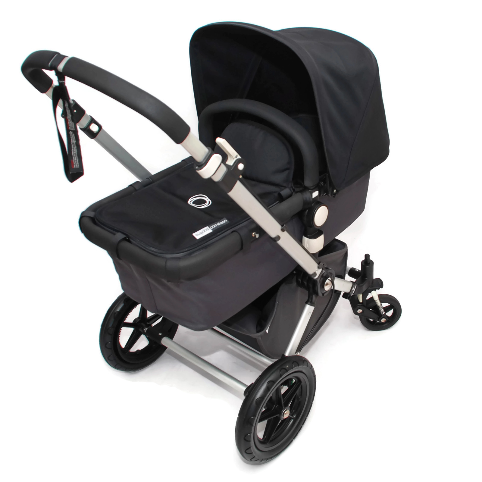 bugaboo cameleon 2 kinderwagen komplett schwarz black grau ebay. Black Bedroom Furniture Sets. Home Design Ideas