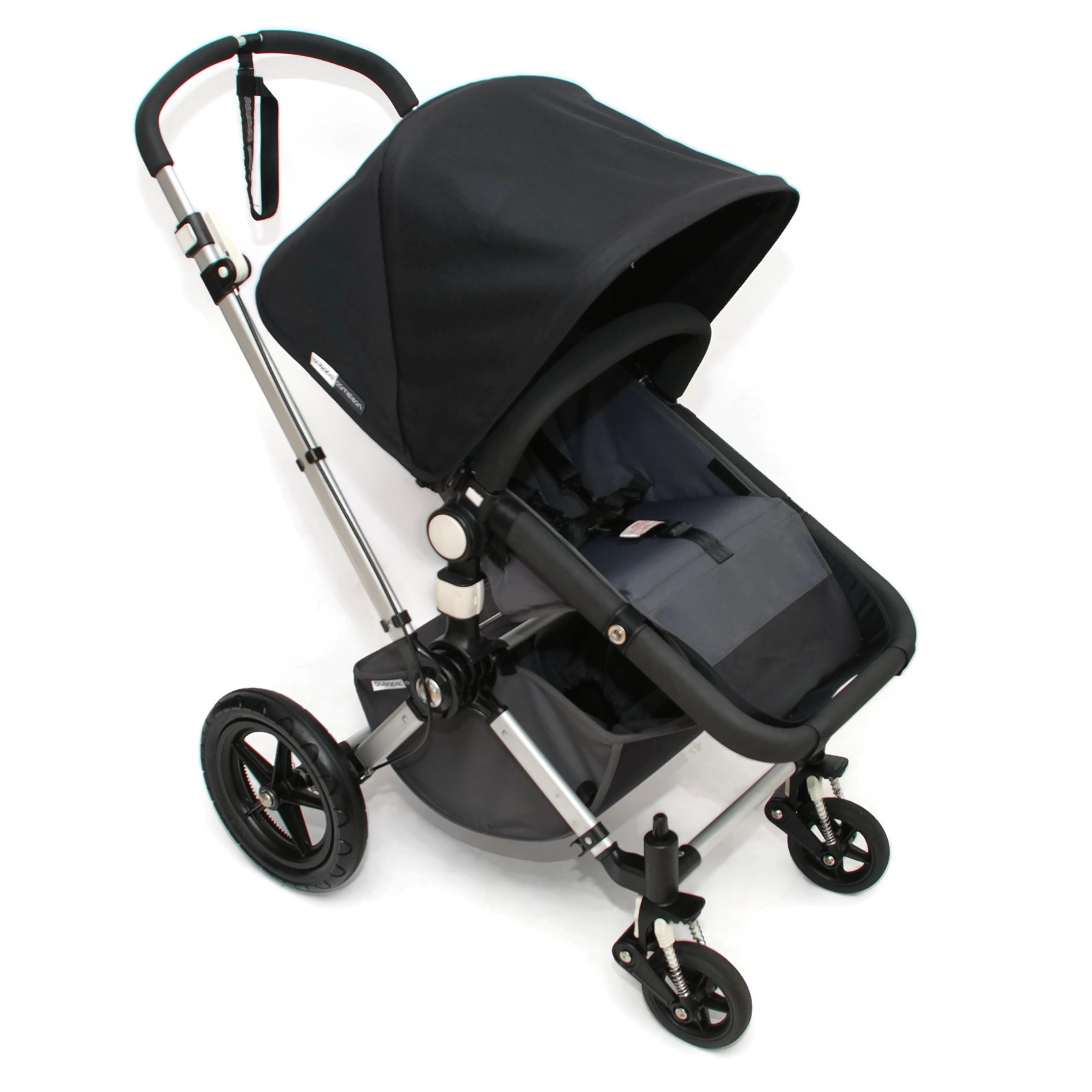 bugaboo cameleon 2 kinderwagen komplett schwarz black grau ebay. Black Bedroom Furniture Sets. Home Design Ideas